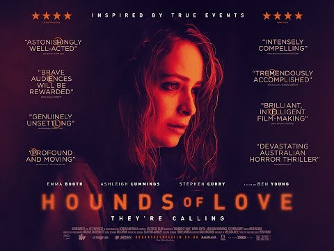 Drawn album cover hounds love About Love Guardian and dark