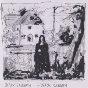Drawn album cover illustration Album Black Covers – Drawn