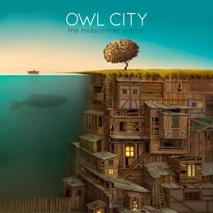 Drawn album cover owl Station Midsummer  The Wikipedia