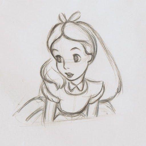 Drawn alice in wonderland #12