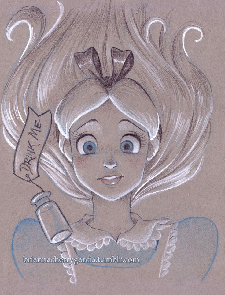 Drawn alice in wonderland cinderella #13