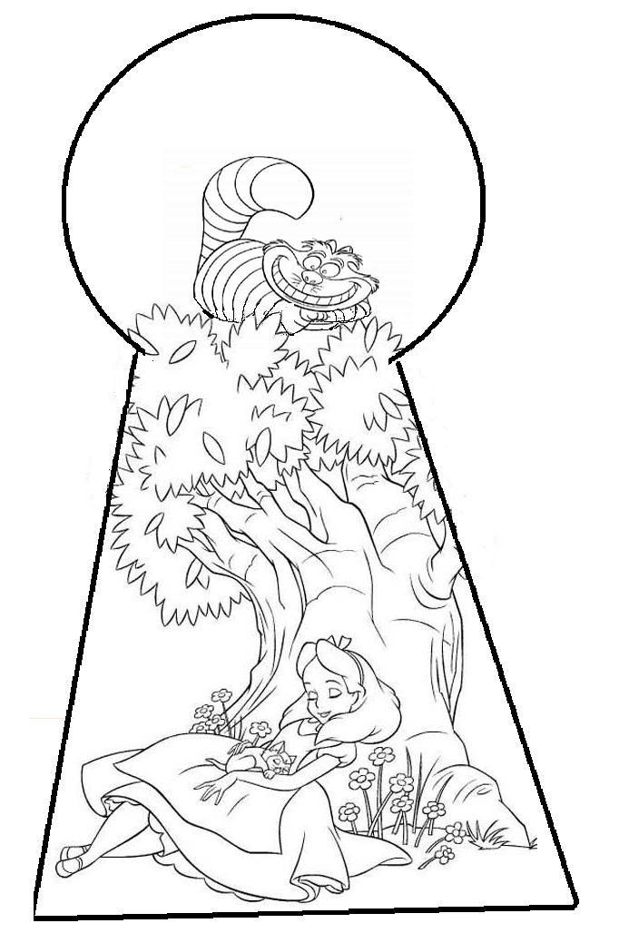 Drawn alice in wonderland cinderella #4
