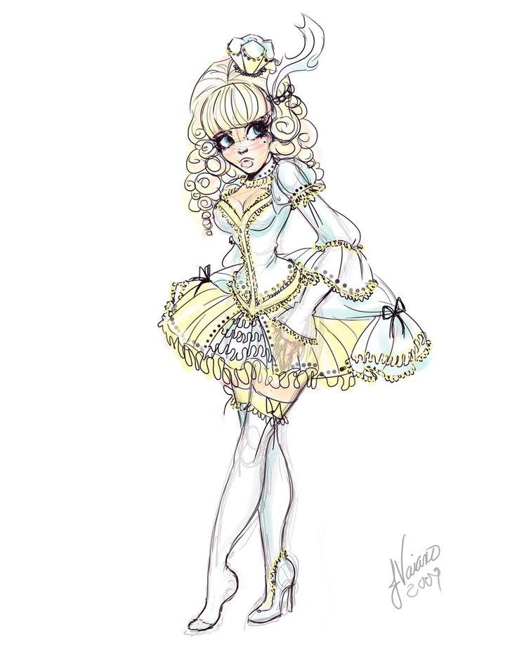 Drawn alice in wonderland cinderella #11