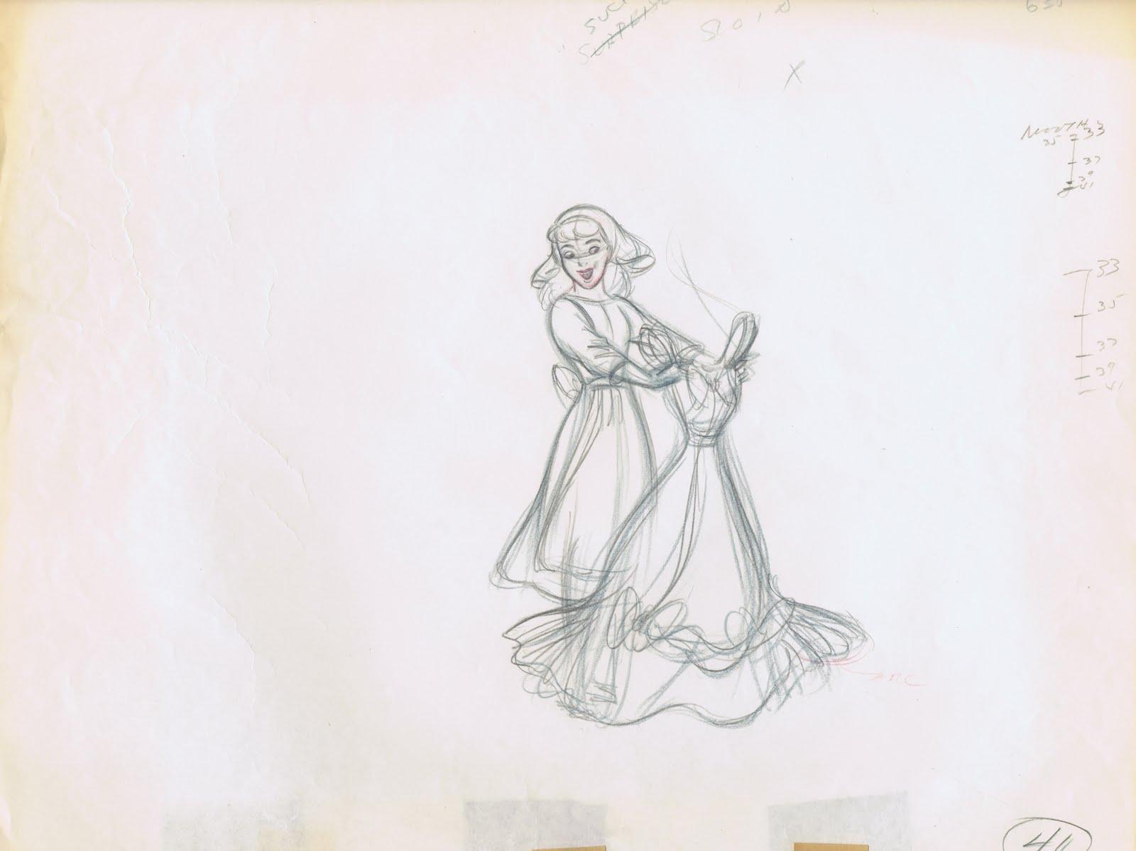 Drawn alice in wonderland cinderella #2