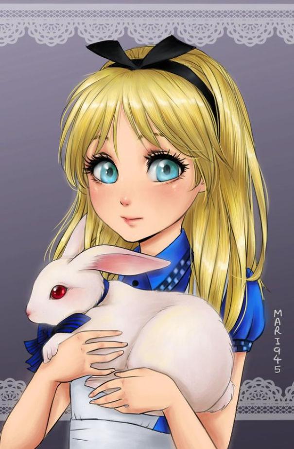 Drawn anime disney princess #8 Princesses As Characters Bored