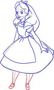 Drawn alice in wonderland wonderlan Draw do pretty is Alice