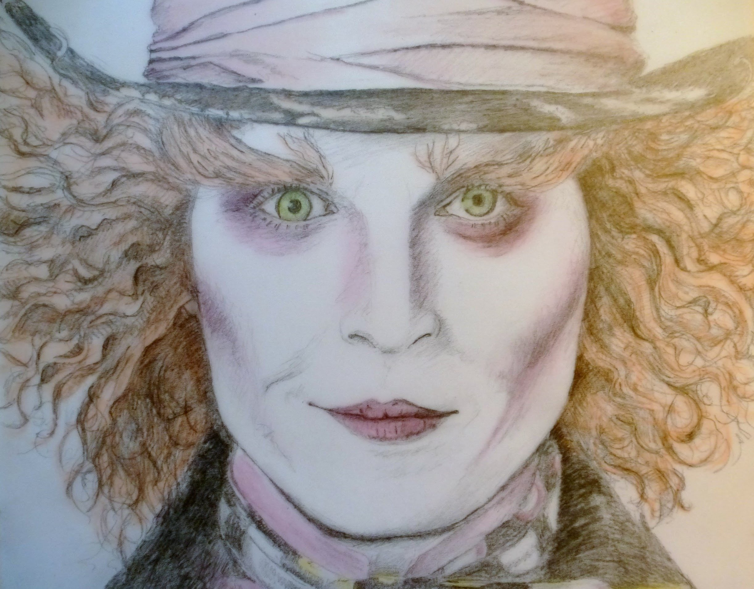 Drawn alice in wonderland mad hatter Depp) the Mad YouTube in