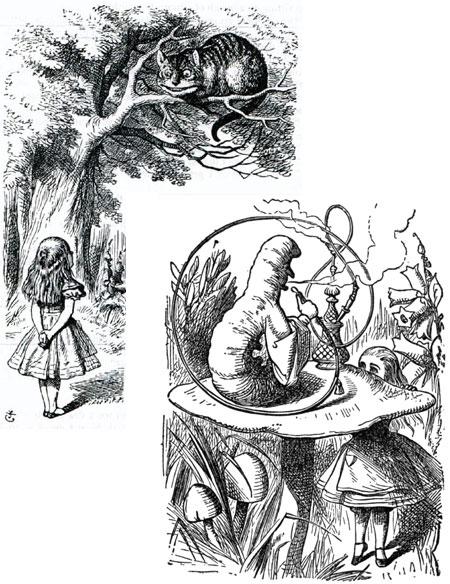 Drawn alice in wonderland old Colors John Sir drawing Tenniel
