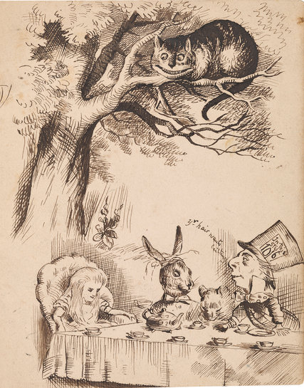 Drawn alice in wonderland old Party Lewis Lewis the 150