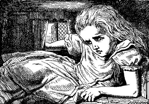 Drawn alice in wonderland old Edition Alice  in in