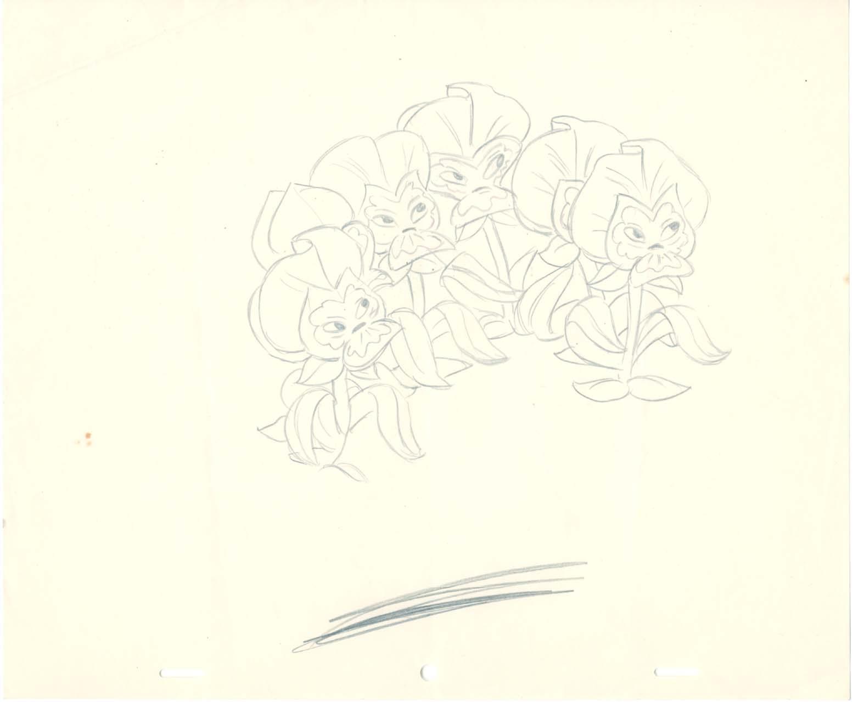 Drawn alice in wonderland rose #11