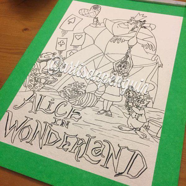 Drawn alice in wonderland star wars #14