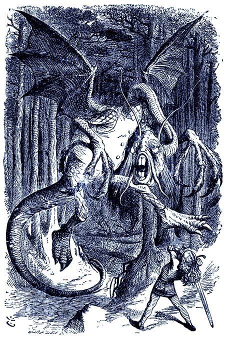 Drawn alice in wonderland star wars #4