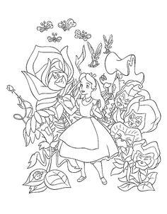 Drawn alice in wonderland star wars #11