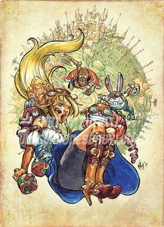 Drawn alice in wonderland steampunk Spanish Disney from steampunk Design