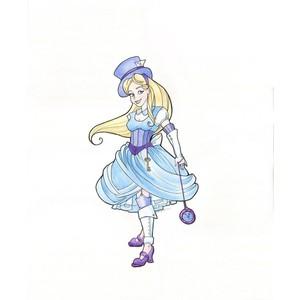 Drawn alice in wonderland steampunk Print Polyvore Alice Wonderland Wonderland