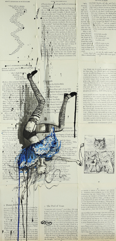 Drawn alice in wonderland the rabbit hole drawing #7