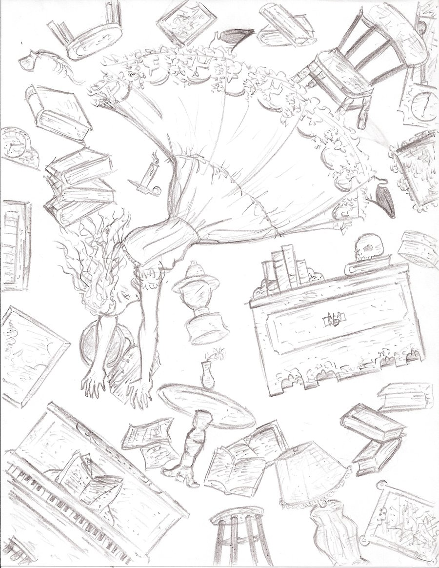 Drawn alice in wonderland the rabbit hole drawing #10