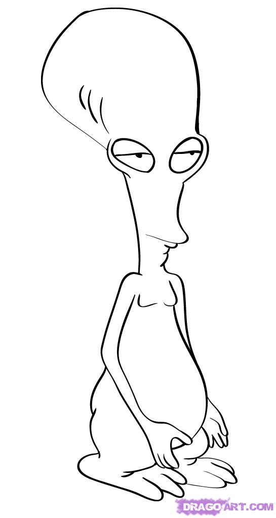 Drawn alien Step Roger by from roger