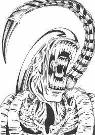 Drawn predator alien vs predator Vs vs zoeken drawing Pinterest