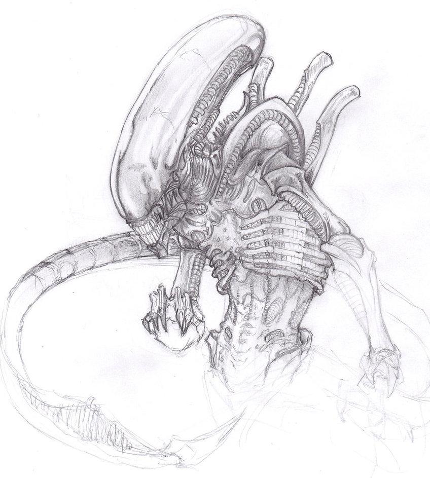Drawn predator giger Spoils ChrisOzFulton  on more