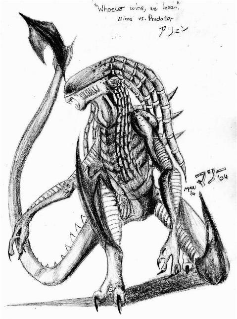 Drawn predator predalien Takarti Predator: Predator: Predalien Takarti