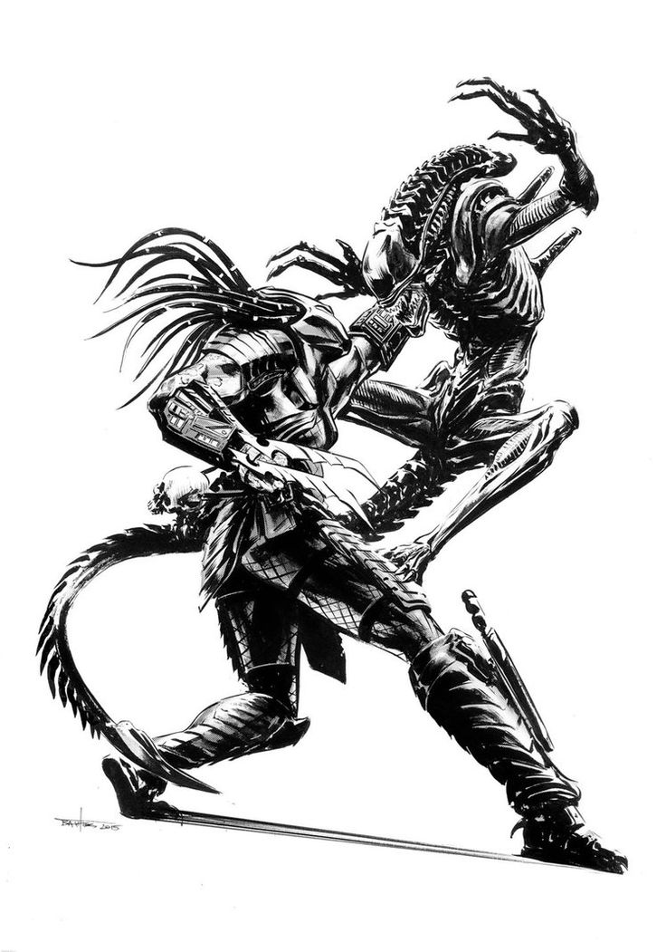 Drawn predator xenomorph Ideas vs vs Brian on