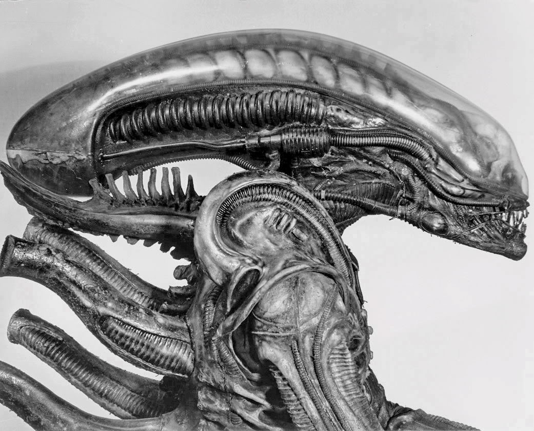 Drawn predator giger In Description original from Alien
