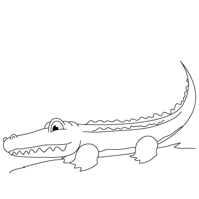Drawn alligator How Draw Fun Adults Lessons