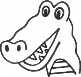 Drawn alligator Draw Gator: Drawing to &
