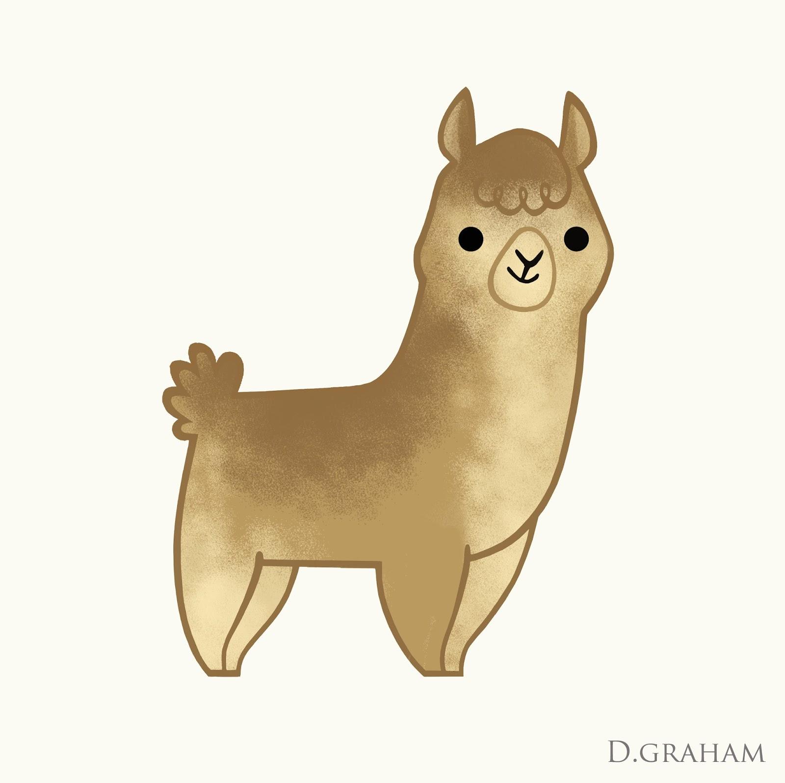 Drawn alpaca Pencil Drawing Alpaca Images Art