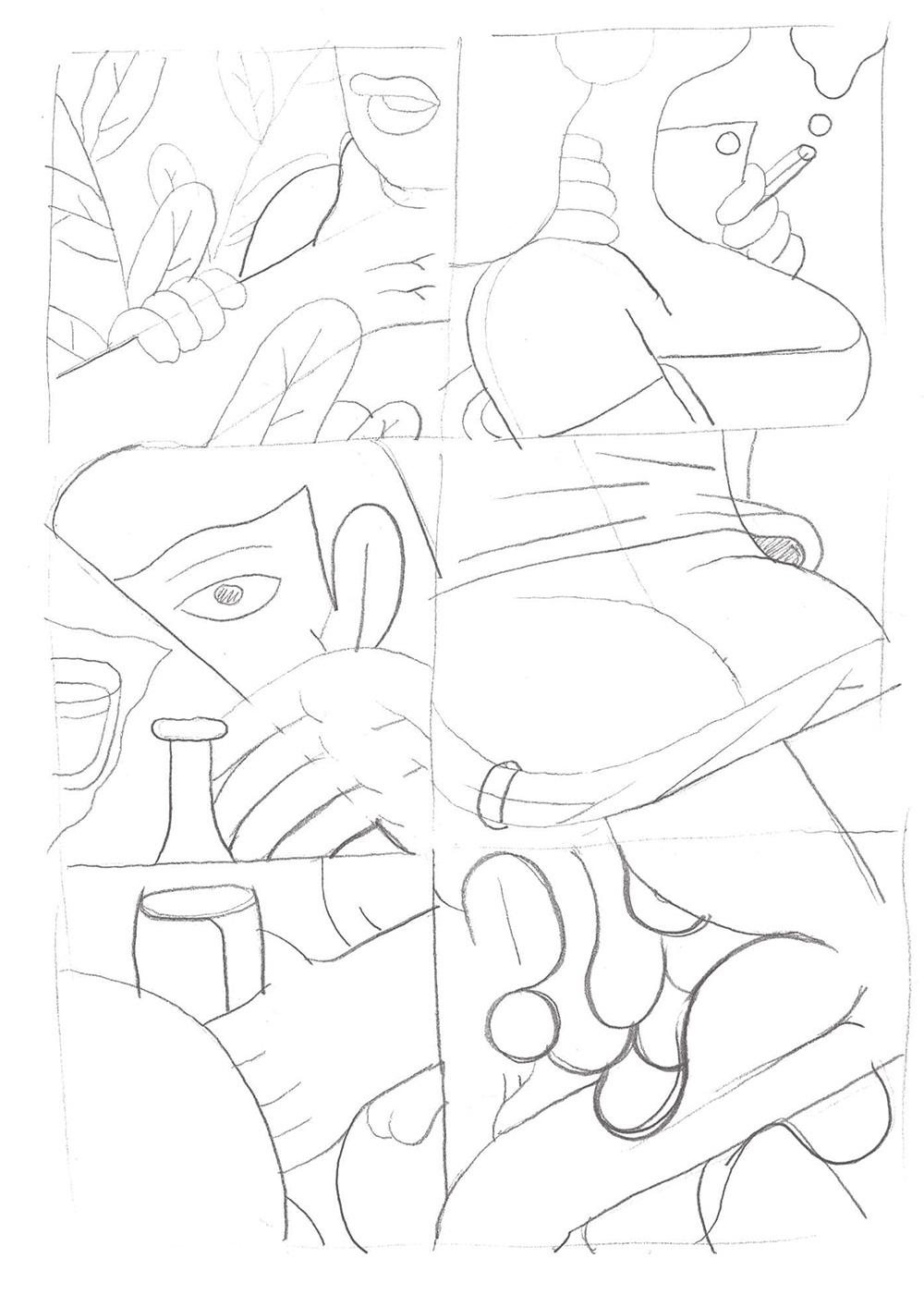 Drawn amd Dots piece Comics drawing Arts