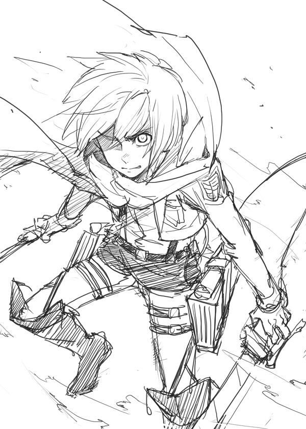 Drawn amd attack on titan On no Pinterest on