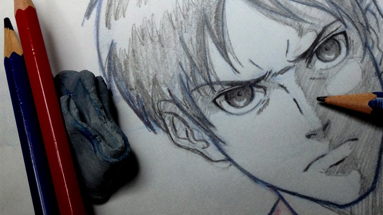 Drawn amd attack on titan On To  Draw Eren