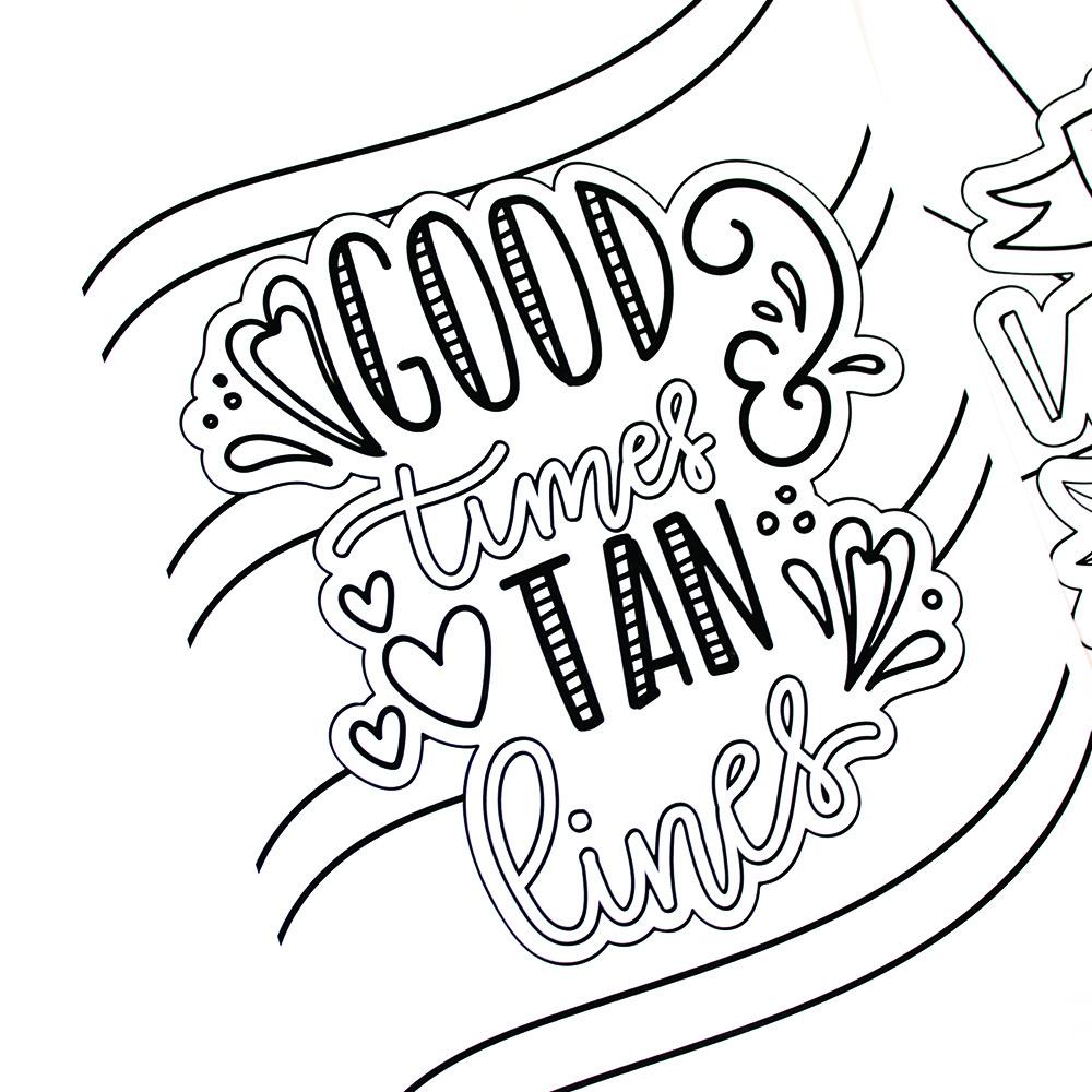 Drawn amd fun Printable Summer drawn hand hand