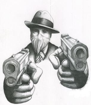 Drawn amd gangster Graphics Gangsta Gangster Best on