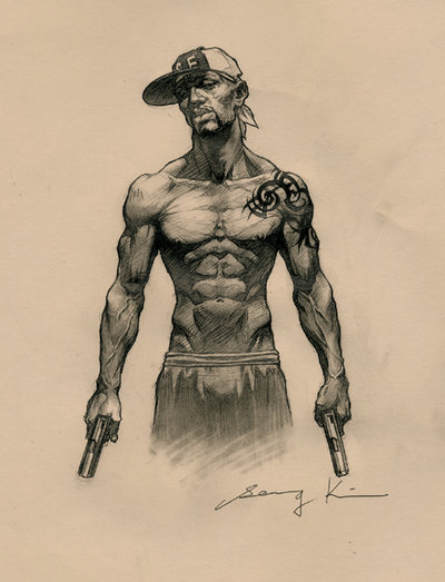 Drawn amd gangster @deviantART by on kse332 Art