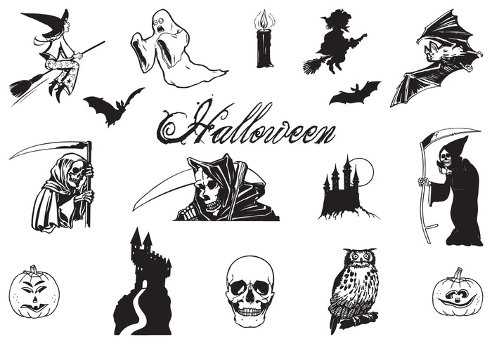 Drawn amd halloween Hand at Hand Brushes