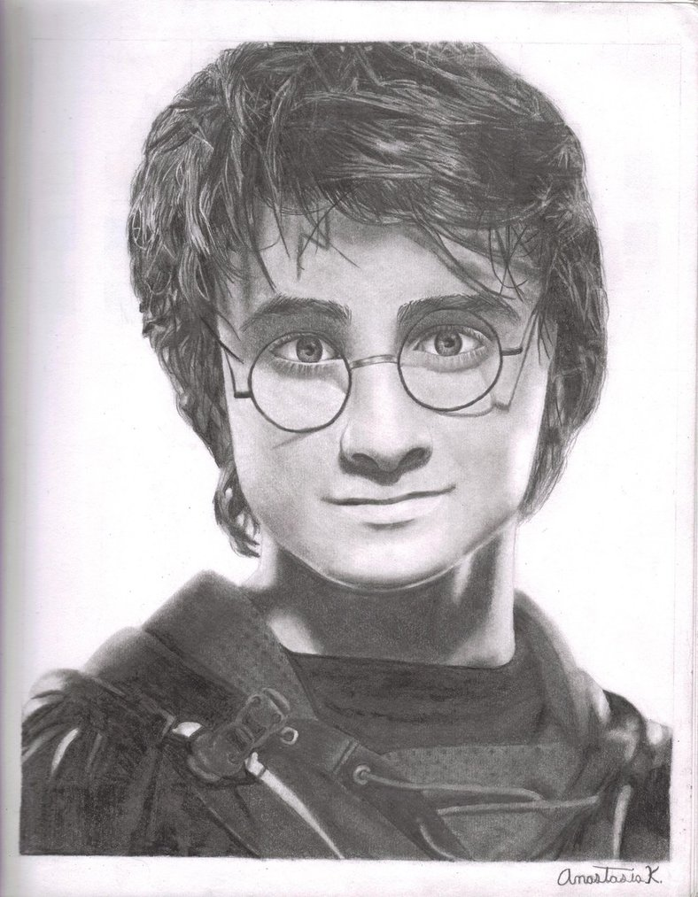 Drawn amd harry potter Anastasia by Potter 137 k