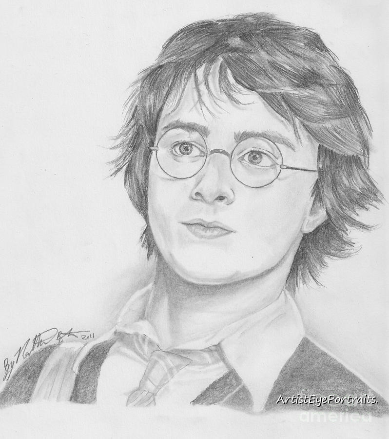 Drawn amd harry potter Bostrom Drawing Harry Potter by