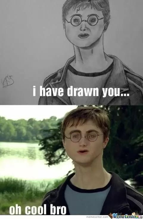 Drawn amd harry potter Harry Improve Memes Life 5