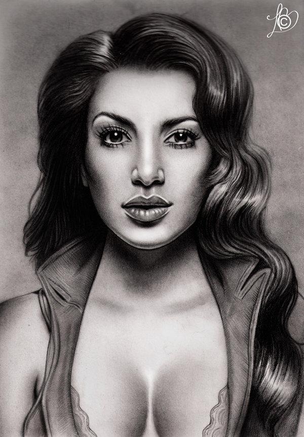 Drawn amd kim kardashian Penguin Kim Kardashian on DeviantArt