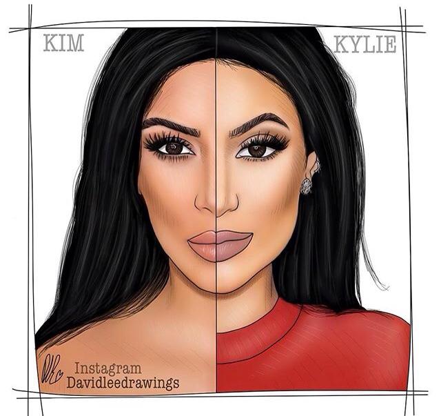 Drawn amd kim kardashian Drawing! https://instagram https://instagram x Digital