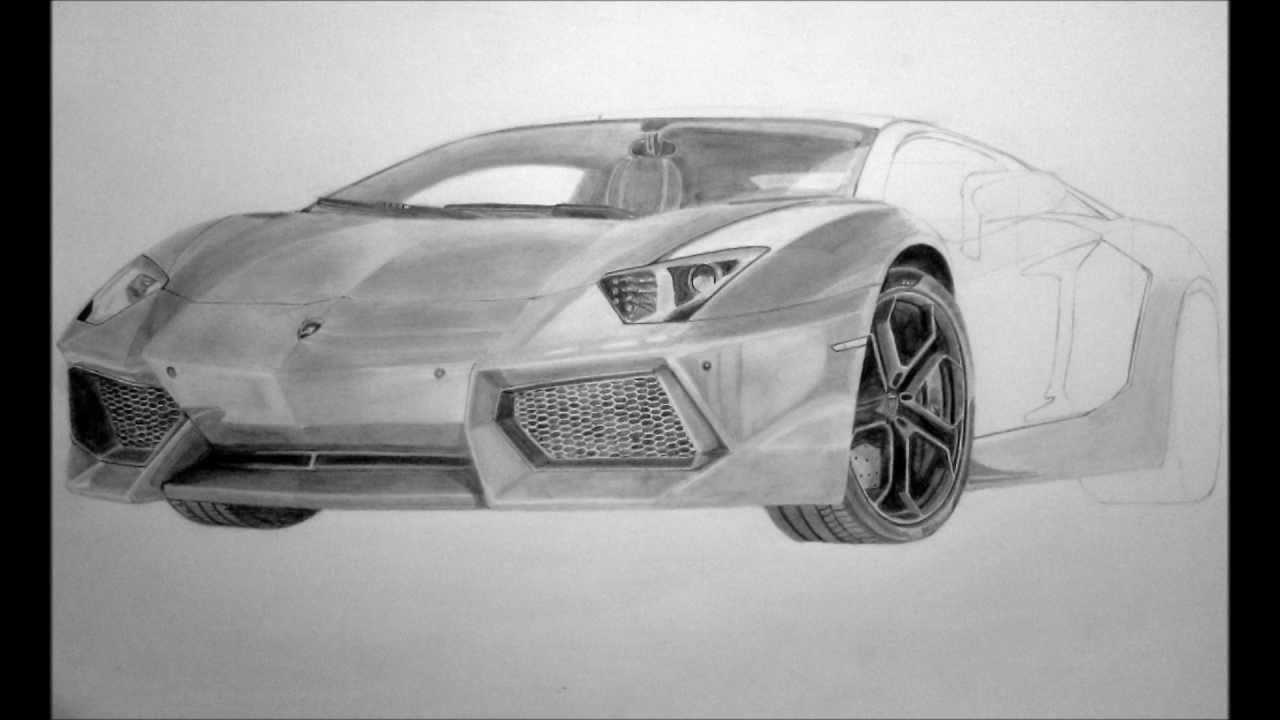 Drawn amd lamborghini aventador LP700  4 Lamborghini Pencil
