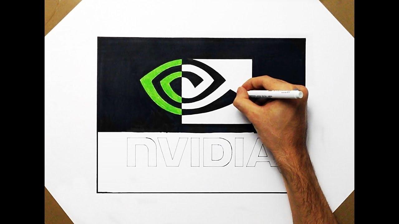 Drawn amd logo YouTube Art Speed #2 To