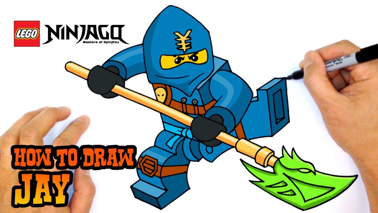 Drawn amd ninjago How Draw Jay YouTube Jay