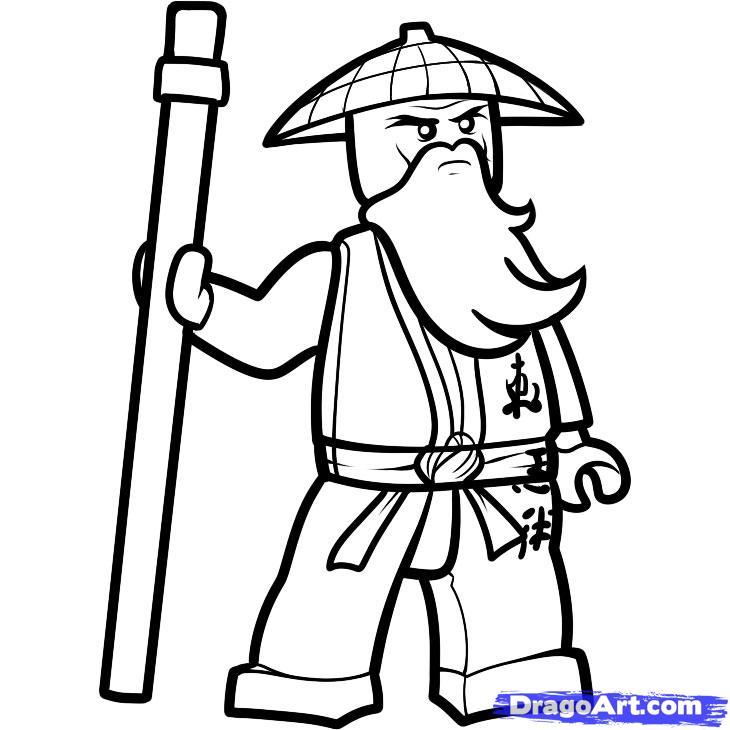 Drawn amd ninjago Ninjago Cartoon 10 sensei