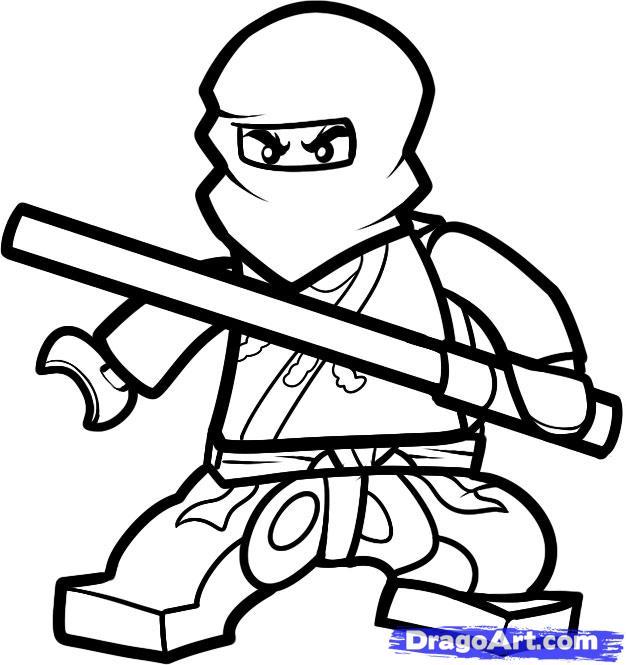 Drawn amd ninjago Step  How cole Cole