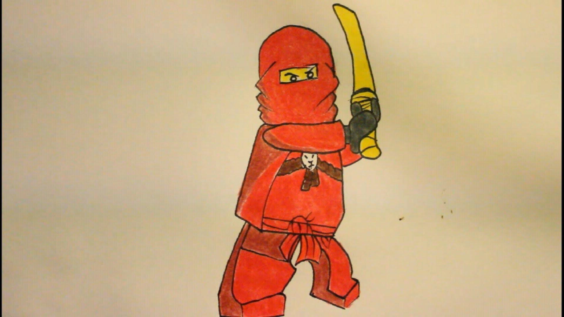 Drawn amd ninjago From Step Draw YouTube By