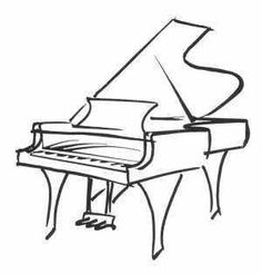 Drawn piano black and white Tattoos piano result Google …